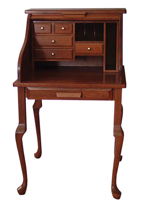 Rolltop Secretary Desk  Amish Office Furniture  Sugar