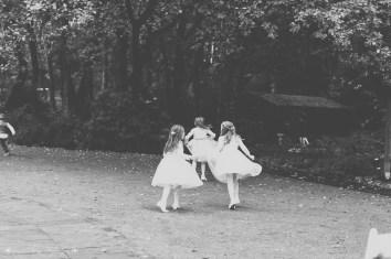 flower girls, wedding photography, black and white