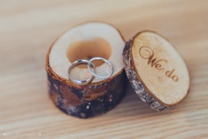 wedding rings, wedding photography, we do, bark ring box