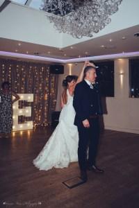 first dance, bride and groom, modershall oaks spa, wedding photography
