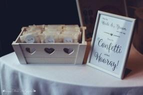 wedding photography, confetti