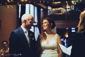 bride, groom, ceremony, wedding, the hundred house