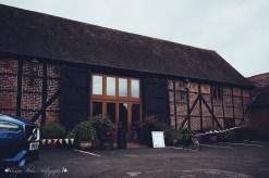 tithe barn, the hundred house, norton, wedding venue