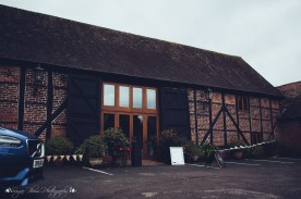 tithe barn, the hundred house, norton, wedding venue