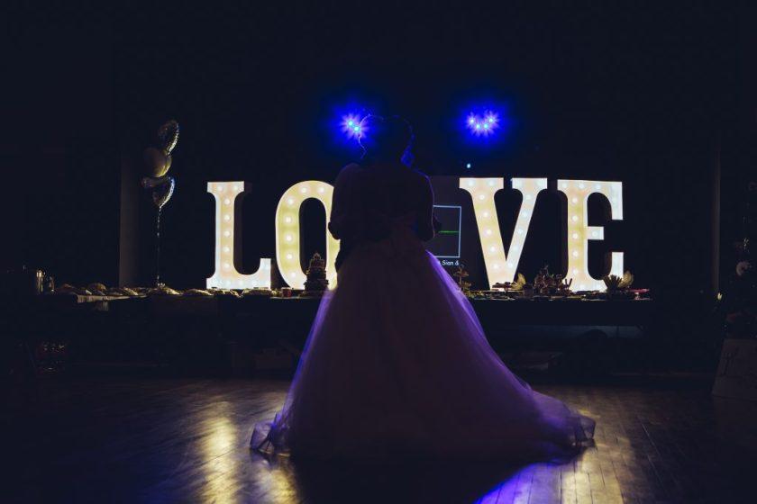 wilson hall wedding reception photography