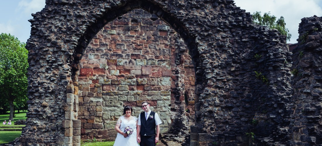 priory park ruins dudley wedding registry office photography