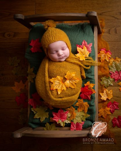 autumn newborn photography dudley west midlands