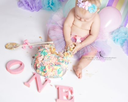 cake smash photography dudley west midlands first birthday shoot