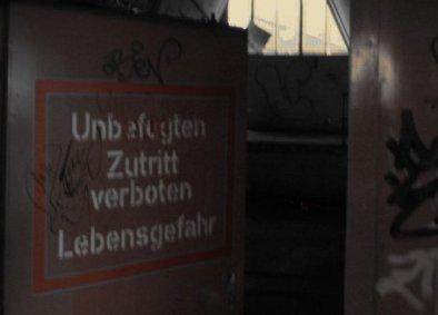 Zutritt Bayerische Milchversorgung