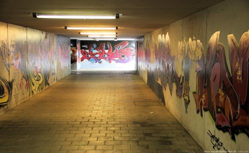 Ansbach Urban Impressions 2012 Location: Bahnhofsunterführung