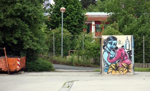 Ansbach Urban Impressions 2012 Location: Bushaltestelle