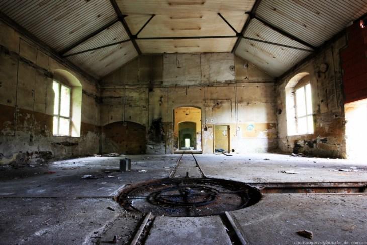 Das verlassene Dorf Oertelsbruch 08 - Sugar Ray Banister