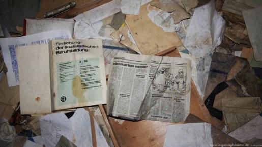Das verlassene Dorf Oertelsbruch 31 - Sugar Ray Banister