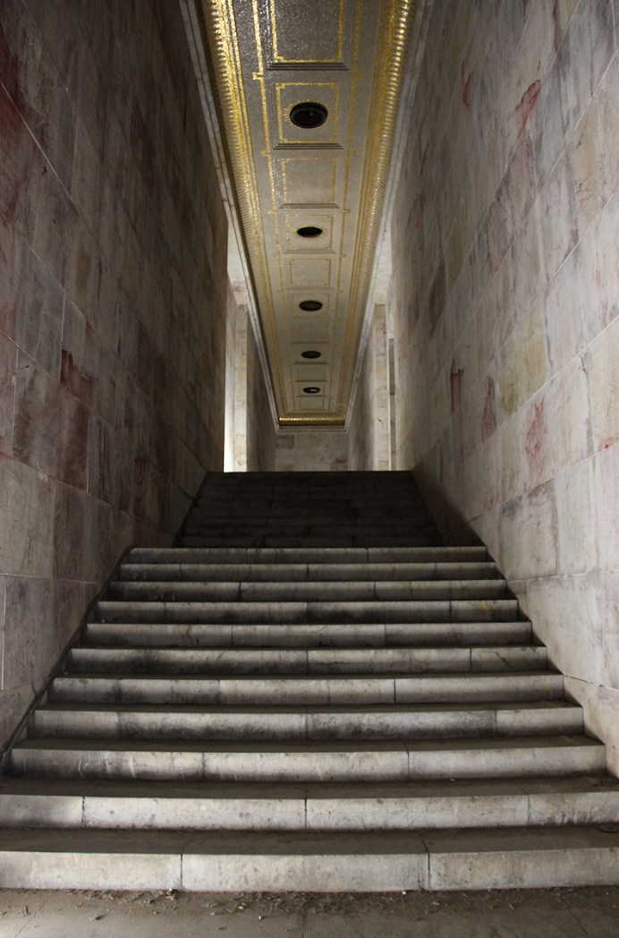 Der Goldene Saal Bild 02 - Treppenhaus