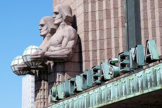 Wächter des Hauptbahnhof Helsinki