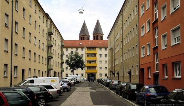 Humboldtstraße - Die zwei Türme (Nürnberg Impressionen #12)