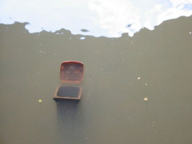 Nürnberg Impressionen #1 - Mülltonne am Kettensteg