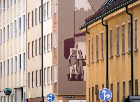 Arbeiter Graffiti