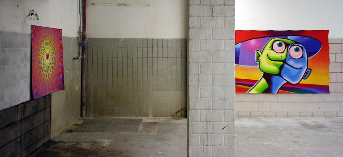 Nord Ost Art 04 - Kunst im alten Heizhaus und den Fertigungshallen des Nordostpark in Nürnberg