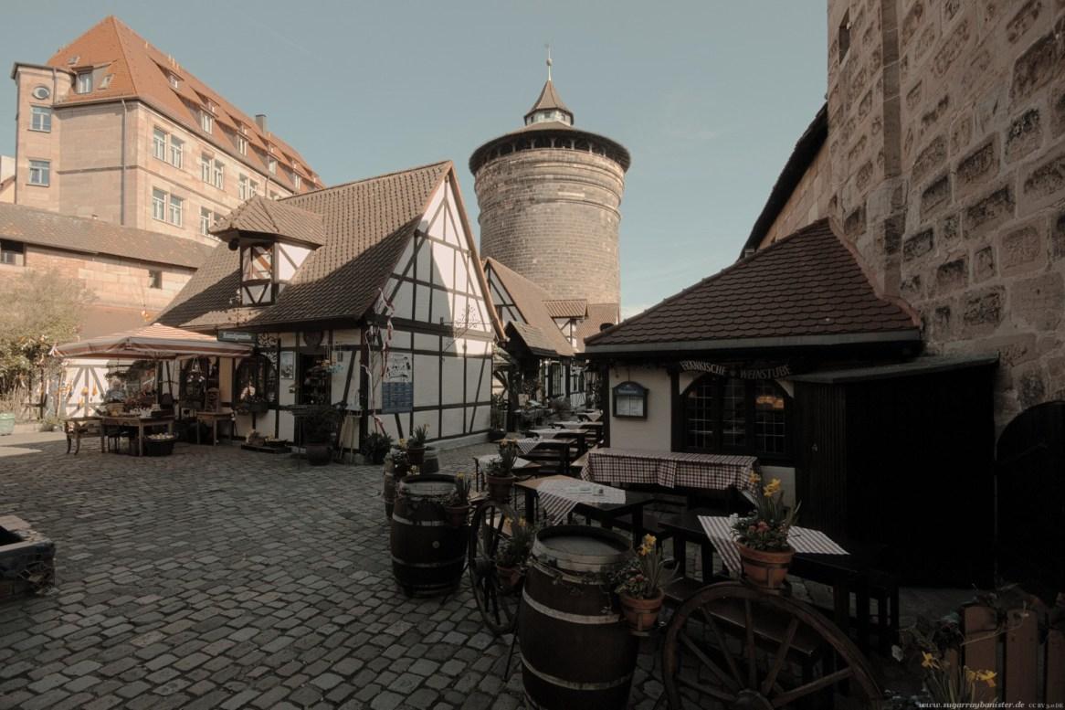 Orte der Renaissance Nürnberg - Frauentorturm