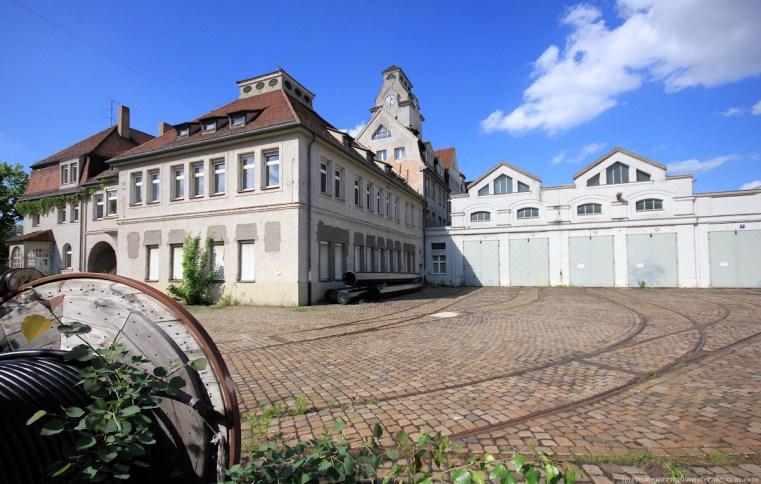 Straßenbahndepot in Nürnberg Muggenhof #2 - Sugar Ray Banister