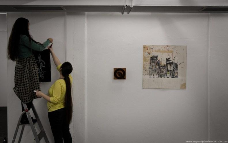 (Vor-)Eröffnung der Quellkollektiv Galerie #07