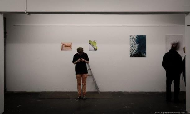 (Vor-)Eröffnung der Quellkollektiv Galerie #10