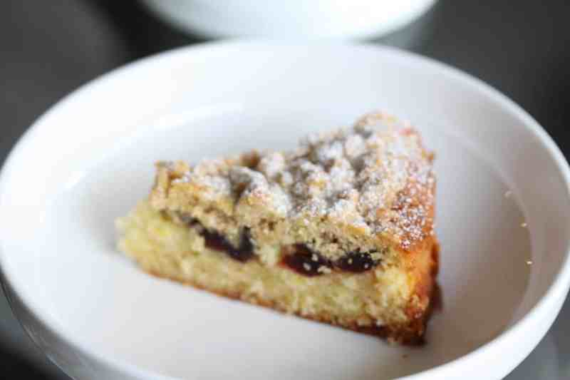 Cherry Crumble Cake 2