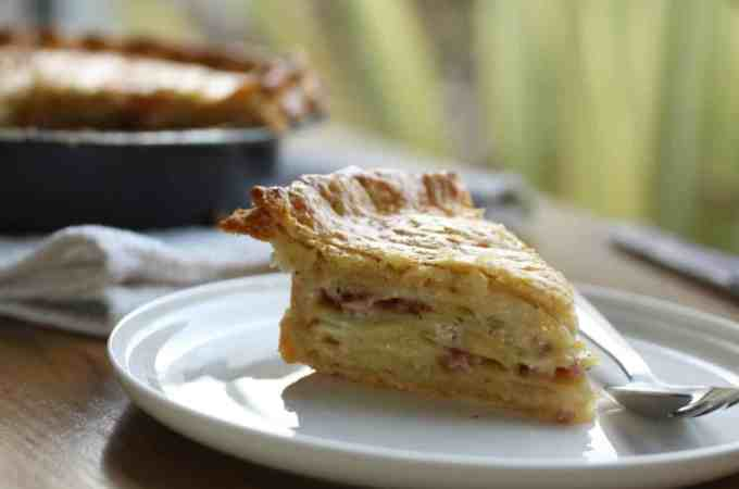 Potato and Bacon Torte