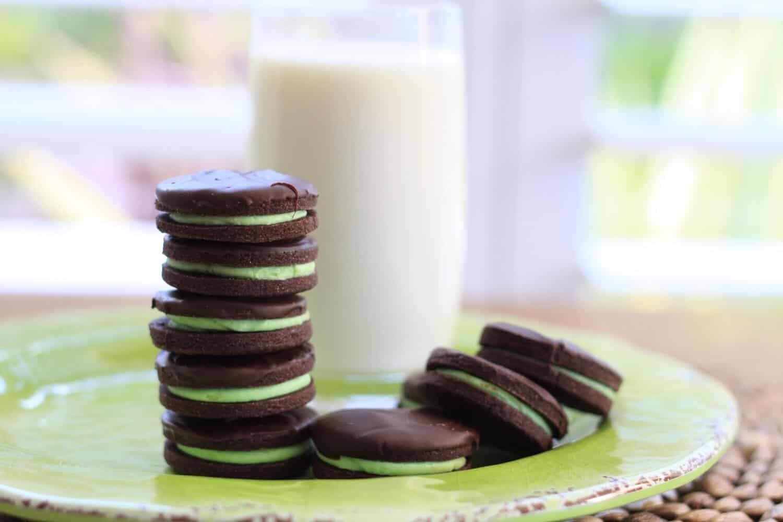 Chocolate Mint Cookies | Sugar Salt Magic
