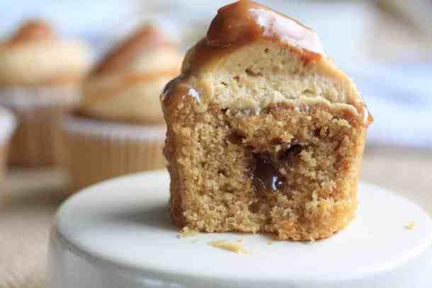 Salted Caramel Cinnamon Cupcakes by Sugar Salt Magic