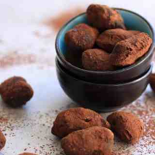 Toffee Pecan Chocolate Truffles