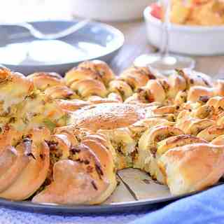 Chiko Roll Pull Apart Bread