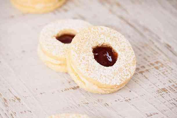 Jam and Coconut Cookies by Sugar Salt Magic