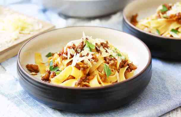 Ragu Bolognese with Tagliatelle by Sugar Salt Magic
