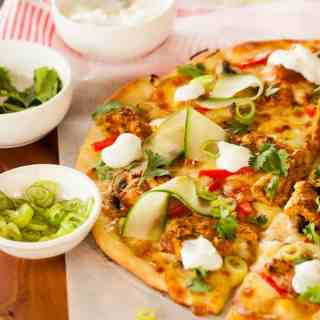 Tandoori Chicken Pizza by Sugar Salt Magic