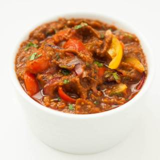 Chunky Roast Tomato Salsa. A rich and spicy salsa using roasted tomatoes.