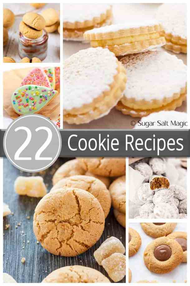 Sugar Salt Magic Cookie Recipe Roundup. 22 fantastic and easy to make cookies all in one place.