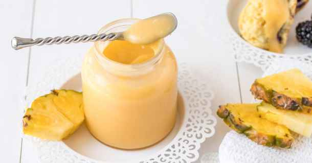 This Creamy Easy Pineapple Curd is all of those things and more. You can make this curd recipe quicker than you could drive to the shop and buy it using simple ingredients.