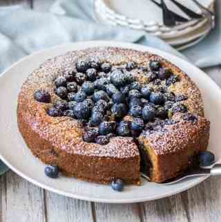 If you love baking with blueberries, you'll love this Blueberry Cake Recipe. A simple blueberry tea cake just perfect for an afternoon tea.