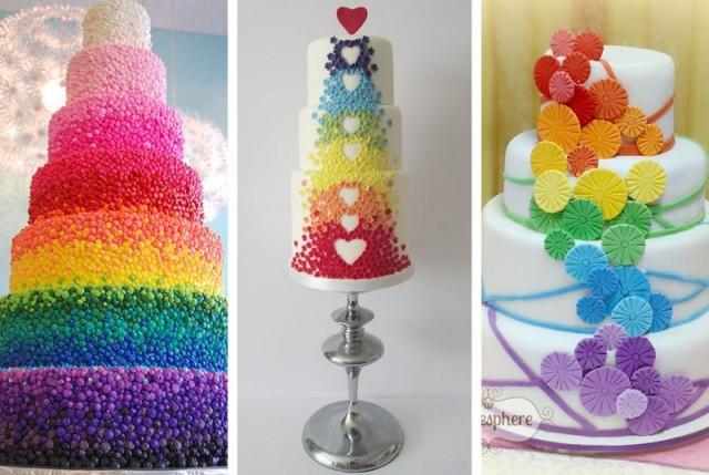 Rainbow Wedding Cakes Anyone Sugar Weddings Amp Parties