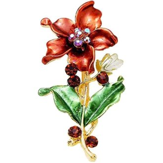 Broche bloem
