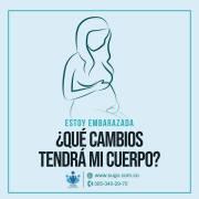 Estoy embarazada ¿Qué cambios tendrá mi cuerpo?