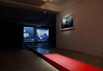 The Upcoming Show | video projection, photo& installation | 2012