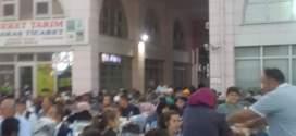 Şuhut belediyesi iftar verdi.
