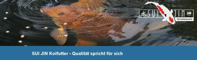 Koifutter kaufen SUI JIN Koifutter günstig im Koifutter Online Shop