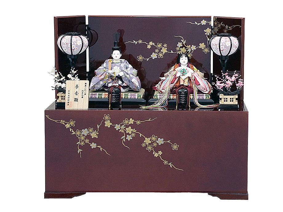 式正冠夢香雛収納飾り