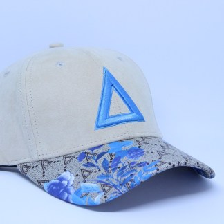 Limited Bird Flower Blue TriSwag (1)