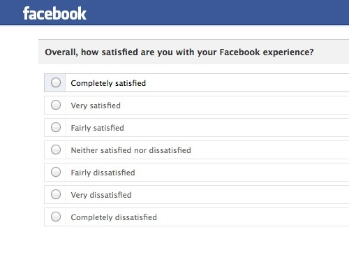 FB Newsfeed Questionnaire