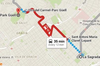 Day 1 - La Familia to Park Guel